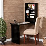 Harper Blvd Murphy Black Fold-out Convertible Desk (32.00 in. H x 22.00 in. W x 6.00 in. D)
