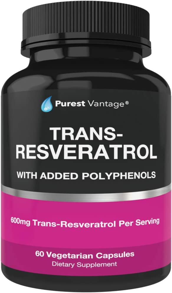 Amazon Com Resveratrol Supplement Potent 1400mg Formula With
