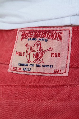 True Religion Vaqueros Skinny HALLE SUPER SKINNY L Rojo