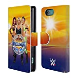 Official WWE Sasha, Charlotte, Bayley Wrestlemania 33 Superstars Leather Book Wallet Case Cover For Sony Xperia Z5 / Z5 Dual