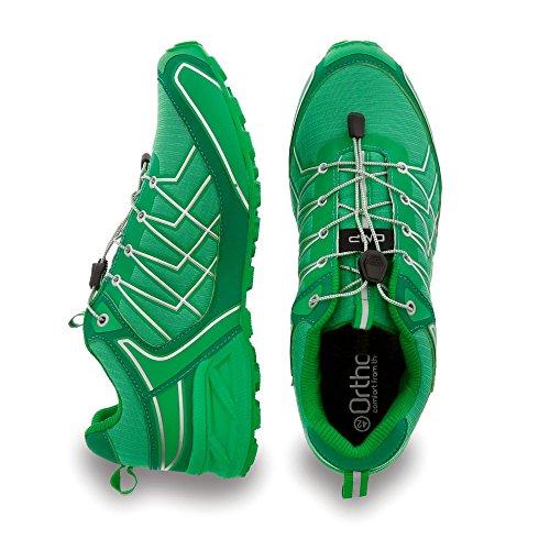 Nuovo super X TRAIL Campagnolo Size 13Scarpe da corsa uomo verde