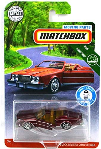 2019 MATCHBOX '83 BUICK RIVIERA CONVERTIBLE MOVING PARTS diecast car