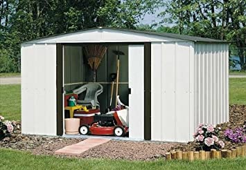 Arrow Newburgh NW Steel Storage Shed, 10 By 8 Feet