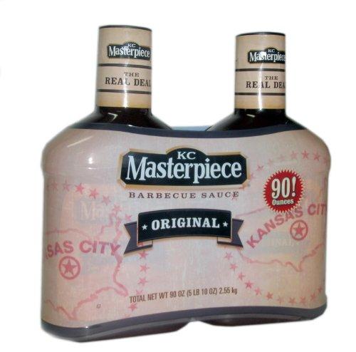 KC Masterpiece Original Barbecue Sauce Twinpack 90oz.