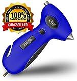 Kyпить Mogix Digital Tire Pressure Gauge Safety 5in1 Survival Tool - Auto Rescue Window Breaker, Seat Belt Cutter, Flashlight and Tire Tread Meter (Blue) на Amazon.com