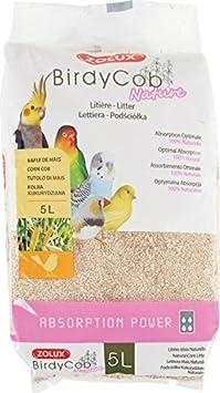 Birdycob Nature – Arena absorbente para pájaros – 5 L