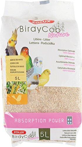 Birdycob Nature - Arena absorbente para pájaros - 5 L: Amazon.es ...