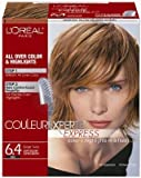 L'Oreal Couleur Experte Express Hair Color & Highlights - #6.4 Light Golden Copper Brown/Ginger Twist (Pack of 3)
