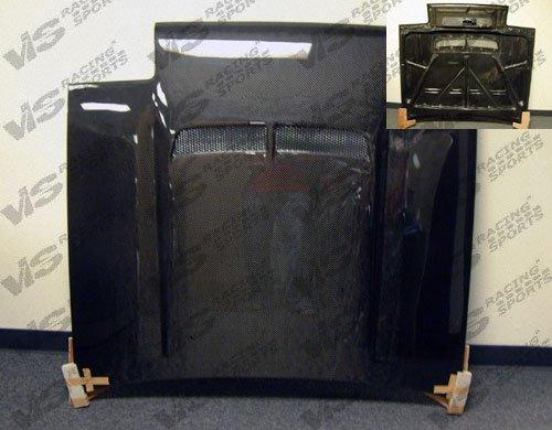 (VIS 84-87 Corolla Carbon Fiber Hood JB AE86 85/86)
