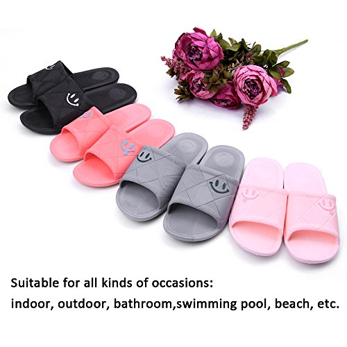 Gray Colorful Anti Slip WILLIAM amp;KATE Summer Slippers Sandals Indoor Shower Slippers EOXXvPwq