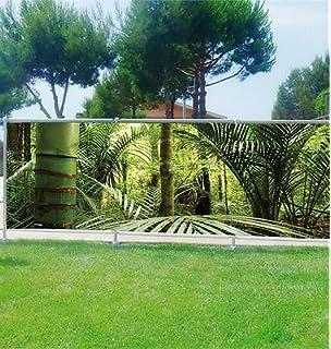 Stickersnews - Brise vue imprimé, jardin, terrasse, balcon déco ...