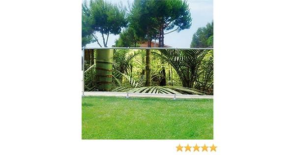 StickersNews Brisa Vue Déco Personalizado Jardines, terrazas y Balcones bambú Réf 3626, plástico Tela, 100%, 180 x 70 cm: Amazon.es: Hogar