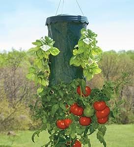 Upside Down Hanging Tomato Plus Planter Garden Outdoor