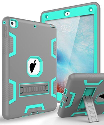 New iPad 9.7 2018 Case,iPad 9.7 Case,Topsky Three Layer Armo