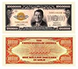 Ronald Reagan $Million Dollar$ Thanks a Million Novelty Bill Collectible