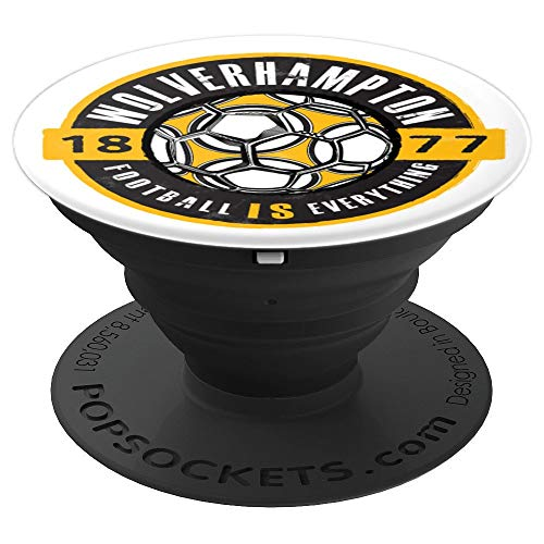 (Football Is Everything - Wolverhampton Vintage - PopSockets Grip and Stand for Phones and)