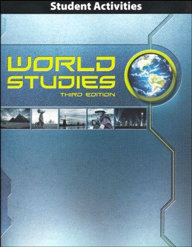 World Studies Student Activities Manual 3rd Edition