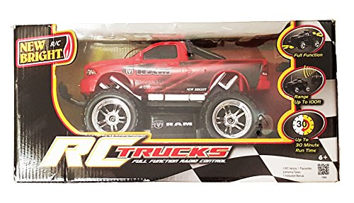 New Bright 1/16 Scale Full Function R/c Dodge Ram (Colors May Vary)
