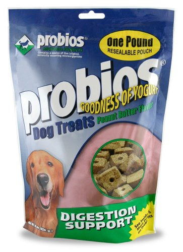 Probios® Dog Treats – Digestion Support – 1lb Pouch, My Pet Supplies