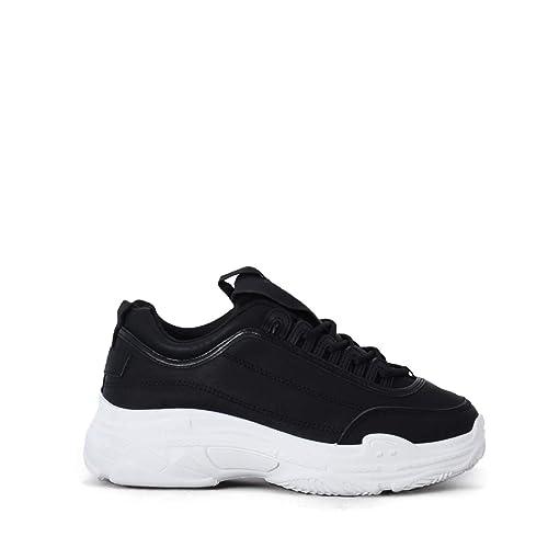 Rebajas Zapatillas Sneakers mujerAltamoda Zapatillas de Mujer Sneakers Altas con Plataforma con Cordones Estilo Urbano para Mujer: Amazon.es: Zapatos y ...