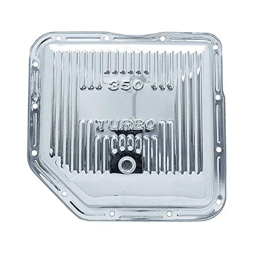 Ecklers Premier Quality Products 57133399 Chevy Transmission Pan Turbo HydraMatic 350 Chrome