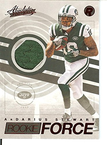 Football NFL 2017 Absolute Rookie Force Red #21 ArDarius Stewart NY Jets by