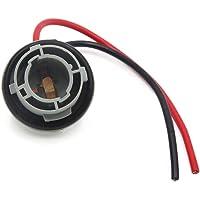 sourcing map 1156 Bombilla Conector 2 Cables Adaptador