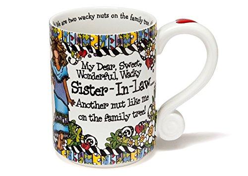 Enesco Suzy Tgoldnto SisterinLaw Mug