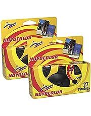 Novocolor Wegwerp camera's met flitser