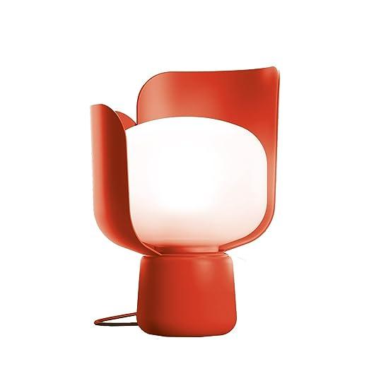 FONTANA ARTE - LAMPADA da tavolo BLOM colore ROSSO: Amazon.it ...