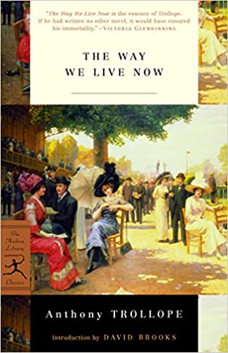 Image result for the way we live now anthony trollope book cover