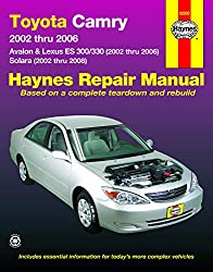 Image of the product Toyota Camry Avalon Lexus that is listed on the catalogue brand of Haynes Manuals Inc.