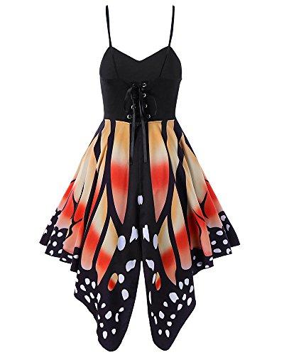 orange cami dress - 9