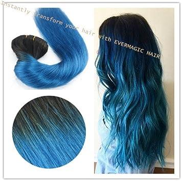 Ombre color 1B/Sapphire 14
