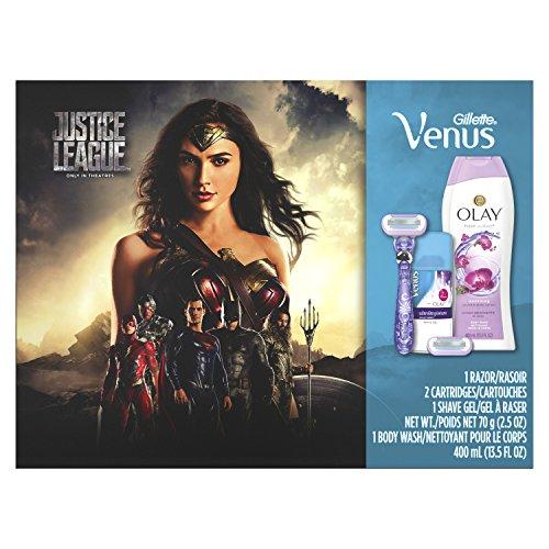 Gillette Venus Swirl Razor with Olay Shave Gel & Body Wash Gift Set