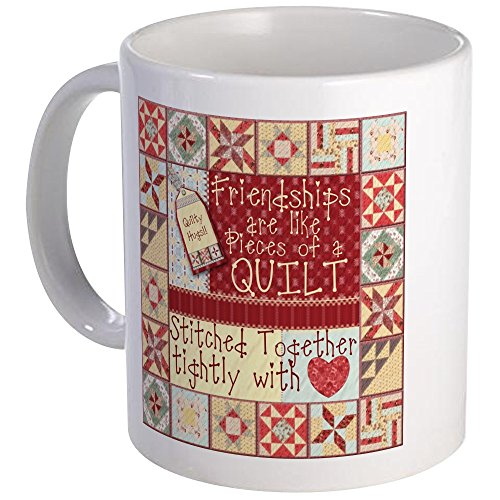 CafePress Friendships Quilts Unique Coffee