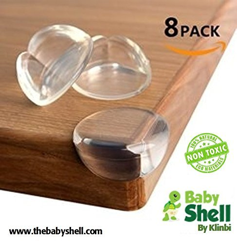(8Pk) Baby Corner Guards from Baby Shell