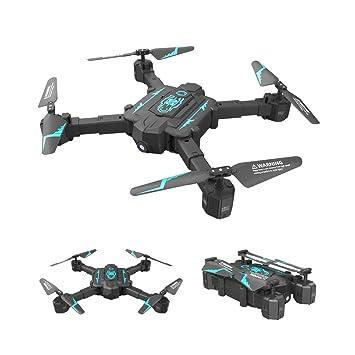 WANGKM Inducción Plegable Drone Profesional HD Cámara Aérea Gestos ...