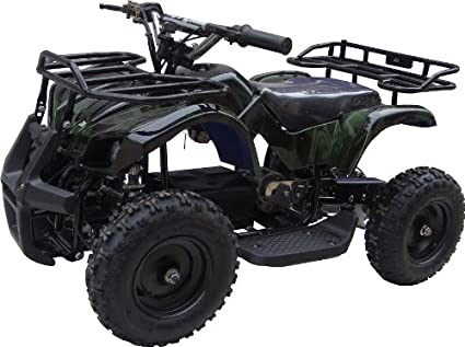 b52aa8d2d37 Amazon.com  NEW UPGRADED MODEL Electric Youth ATV Sport Quad for ...