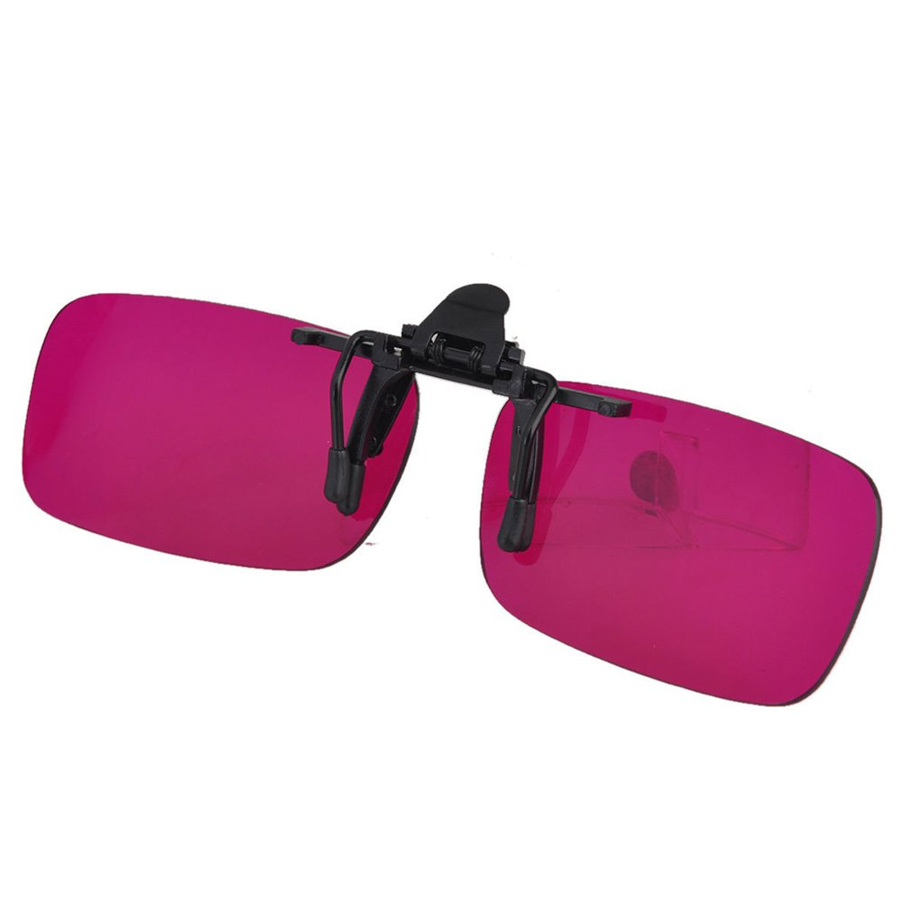 Outdoor Adjustable Clip Colorblindness Corrective Glasses Color Blind Red Green Color Blind Vision Care by ATINGSH (Image #7)
