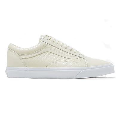 c5ddb64f9d0 Vans Old Skool DX Mens Size 8.5 Armor Leather Turtledove Skateboarding Shoes