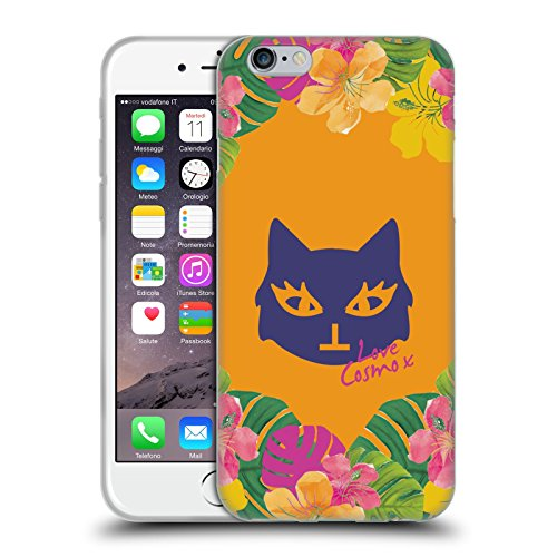 Official Cosmopolitan Lovey Tropical Soft Gel Case for Apple iPhone 6 / 6s