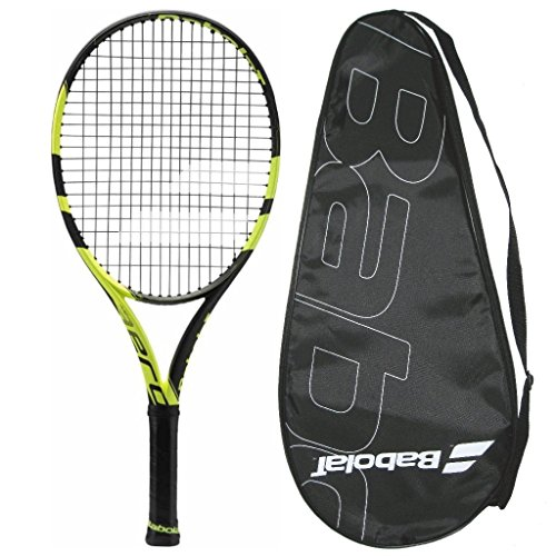 Babolat 2016-2018 Pure Aero Junior 26 – AeroPro Junior – STRUNG with COVER (4-0/8) Review