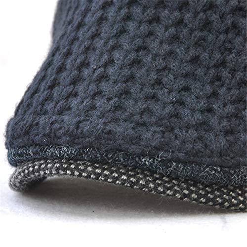Mediana Hombre hat Sombrero Sombreros otoño Invierno D cálido A qin de de de Edad de Gorra Sombrero GLLH nIWOx5Pqa