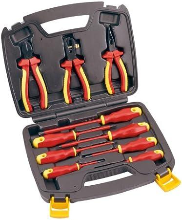 JCB JCB-10ETK - Juego de tenazas y alicates (pack de 10): Amazon.es: Bricolaje y herramientas