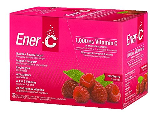 Ener C Gluten Energy Raspberry Packets product image