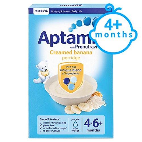Aptamil Creamed Banana Porridge 125G 4 Month Plus Brand Aptamil