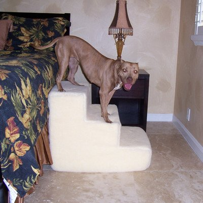 Stairs Pet Step Three (Big Dawg Foam 3 Step Pet Stair With Sherpa Cover)