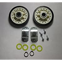 LA-1008 Dryer Rear Roller Kit For Whirlpool Admiral Crosley Norge Magic Chef Replaces These Other Numbers3044 53-0312N AH2162268 DE696 EA2162268 K35-251 LA1008 PS2162268 AP4242491 by PartsFast