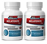 Product review for Melatonin 3mg tablets - Melatonin 3mg - Protects against heart condition (2 Bottles - 180 Lozenges)